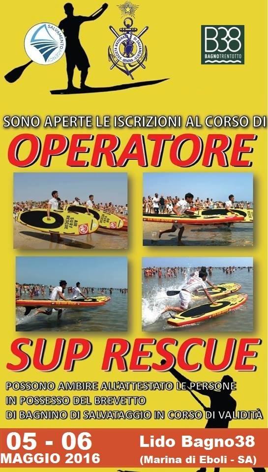 Rescue Italia_Operatore Sup Rescue Battipaglia Corso
