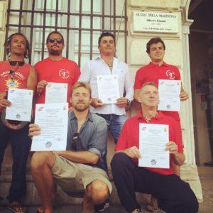 RescueItalia_bagnini premiati a viareggio